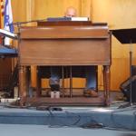 Todd Noordyk on the piano.